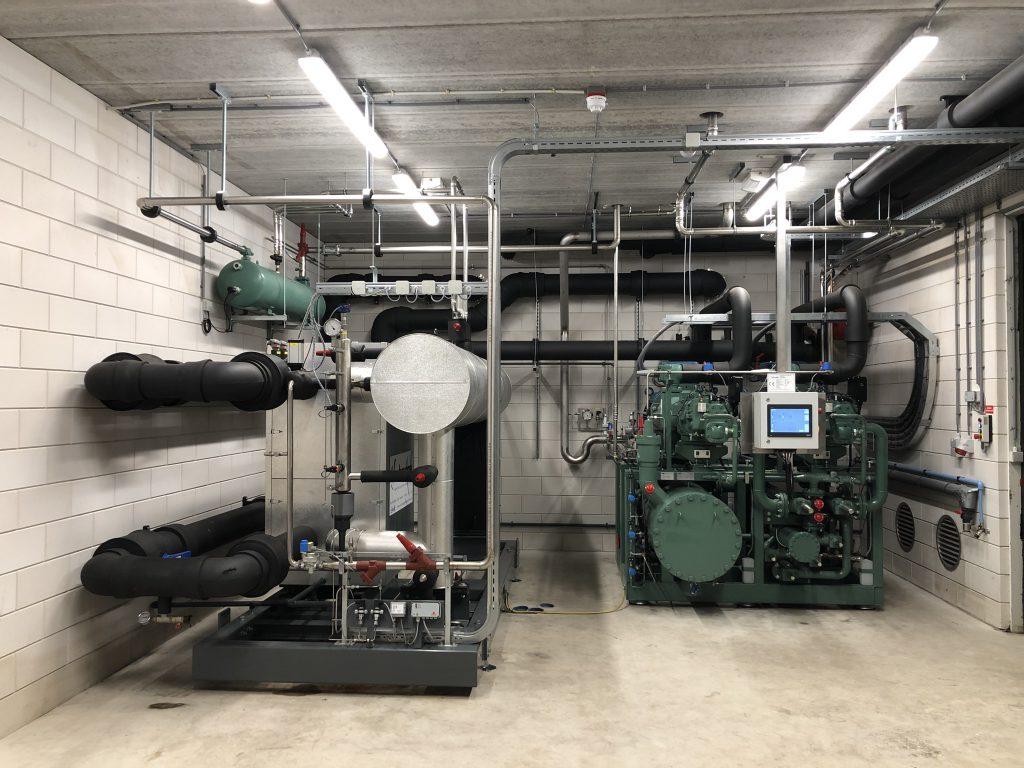 Ammoniak Installatie 800 kW – Gemert